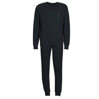 Textiel Heren Trainingspakken Emporio Armani STRETCH TERRY Marine