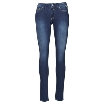 Textiel Dames Skinny Jeans Replay NEW LUZ Blauw
