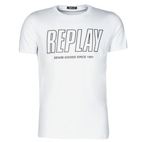 Textiel Heren T-shirts korte mouwen Replay M3395-2660 Wit