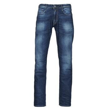 Textiel Heren Straight jeans Replay ROCCO Pants Blauw / Donker