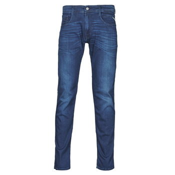 Textiel Heren Skinny jeans Replay ANBASS Pants Blauw