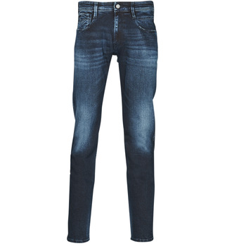 Textiel Heren Skinny jeans Replay ANBASS Pants Blauw / Donker
