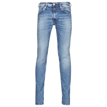 Textiel Heren Skinny Jeans Replay JONDRILL Pants Blauw / Clair