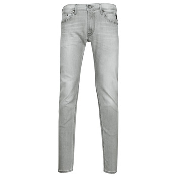Textiel Heren Skinny Jeans Replay JONDRILL Pants Grijs