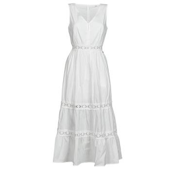 Textiel Dames Korte jurken Deeluxe MAEL Ecru