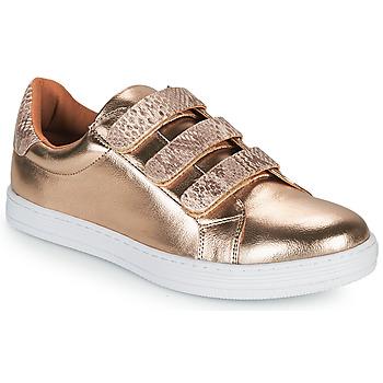 Schoenen Dames Lage sneakers Moony Mood OCHIC Goud