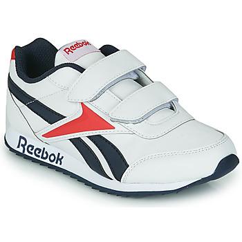 Schoenen Kinderen Lage sneakers Reebok Classic REEBOK ROYAL CLJOG 2 2V Wit / Marine / Rood