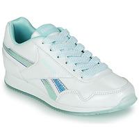 Schoenen Meisjes Lage sneakers Reebok Classic REEBOK ROYAL CLJOG 3.0 Wit / Blauw