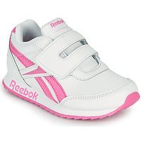 Schoenen Meisjes Lage sneakers Reebok Classic REEBOK ROYAL CLJOG 2 KC Wit / Roze