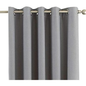 Wonen Gordijnen, jaloezieën Riva Home Taille 4: 168 x 183cm RV1083 Zilver