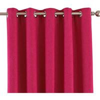 Wonen Gordijnen, jaloezieën Riva Home Taille 6: 229 x 137cm Roze