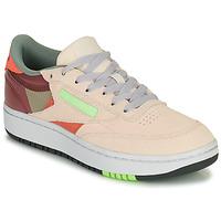 Schoenen Dames Lage sneakers Reebok Classic CLUB C DOUBLE Beige / Maroon