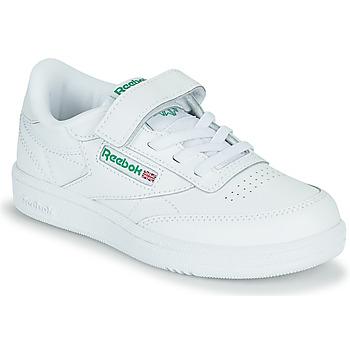 Schoenen Kinderen Lage sneakers Reebok Classic CLUB C 1V Wit