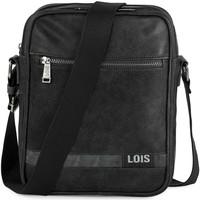 Tassen Heren Schoudertassen met riem Lois GRANT Bag Bag 310226 Zwart