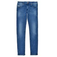 Textiel Jongens Skinny Jeans Diesel SLEENKER Blauw