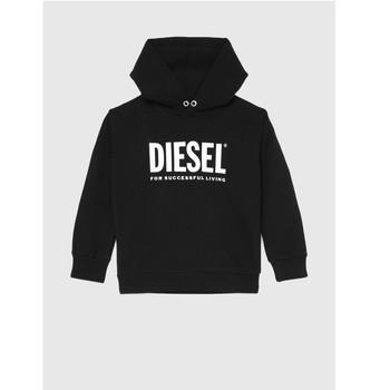 Textiel Kinderen Sweaters / Sweatshirts Diesel SDIVISION LOGO Zwart