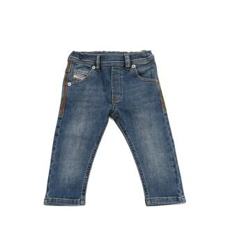 Textiel Jongens Skinny jeans Diesel KROOLEY Blauw