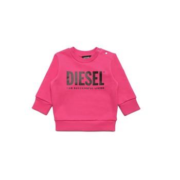 Textiel Meisjes Sweaters / Sweatshirts Diesel SCREWDIVISION LOGOB Roze