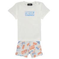 Textiel Jongens Setjes Diesel SILLIN Multicolour