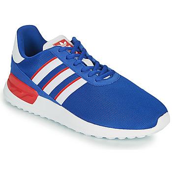 Schoenen Kinderen Lage sneakers adidas Originals LA TRAINER LITE J Blauw / Wit