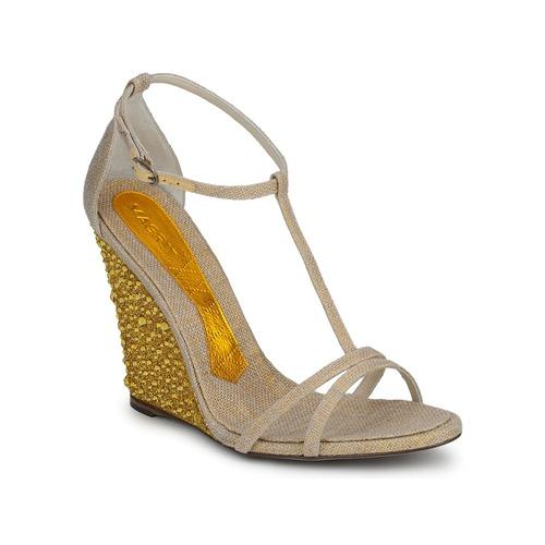 Schoenen Dames Sandalen / Open schoenen Magrit JOAQUINA Beige / Goud