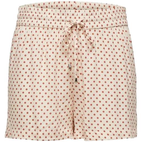 Textiel Dames Korte broeken / Bermuda's Jacqueline De Yong  Oranje