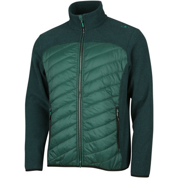 Fleece Jack Cmp  Padded Hybrid Fleece Jacket