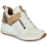 Schoenen Dames Lage sneakers MICHAEL Michael Kors GEORGIE TRAINER Beige
