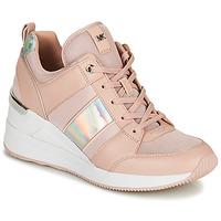 Schoenen Dames Lage sneakers MICHAEL Michael Kors GEORGIE TRAINER Roze