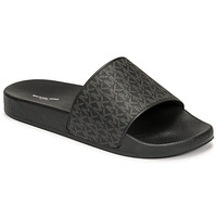 Schoenen Heren slippers MICHAEL Michael Kors JAKE SLIDE Zwart