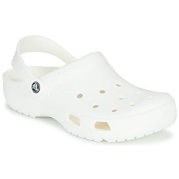 Schoenen Klompen Crocs COAST CLOG WHI Wit