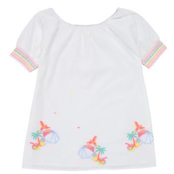 Textiel Meisjes Korte jurken Billieblush / Billybandit U12657-10B Wit