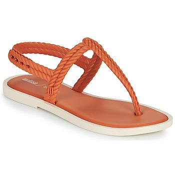 Schoenen Dames Teenslippers Melissa FLASH SANDAL & SALINAS Oranje / Beige