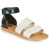 Schoenen Dames Sandalen / Open schoenen Melissa MELISSA MODEL SANDAL Wit / Zwart