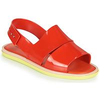 Schoenen Dames Sandalen / Open schoenen Melissa CARBON Rood