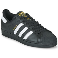 Schoenen Lage sneakers adidas Originals SUPERSTAR Zwart / Wit