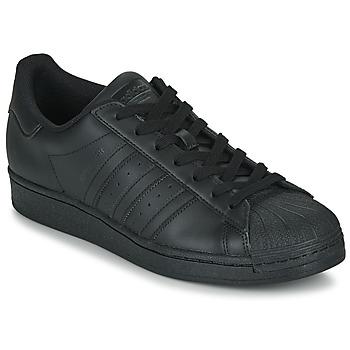 Schoenen Lage sneakers adidas Originals SUPERSTAR Zwart