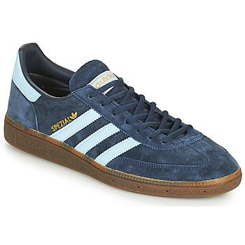 Schoenen Heren Lage sneakers adidas Originals HANDBALL SPEZIAL Blauw / Wit