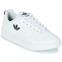 Schoenen Kinderen Lage sneakers adidas Originals NY 92 J Wit / Zwart
