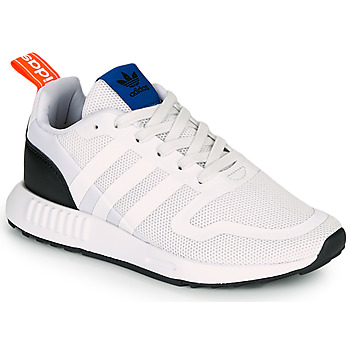 Schoenen Kinderen Lage sneakers adidas Originals SMOOTH RUNNER J Wit / Zwart