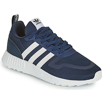 Schoenen Kinderen Lage sneakers adidas Originals SMOOTH RUNNER C Marine / Wit