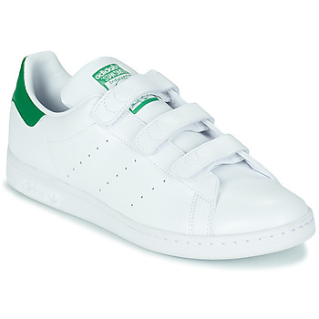 Schoenen Lage sneakers adidas Originals STAN SMITH CF SUSTAINABLE Wit / Groen