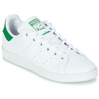 Schoenen Kinderen Lage sneakers adidas Originals STAN SMITH J SUSTAINABLE Wit / Groen