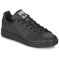 Schoenen Kinderen Lage sneakers adidas Originals STAN SMITH J SUSTAINABLE Zwart