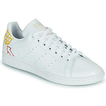 Schoenen Dames Lage sneakers adidas Originals STAN SMITH W SUSTAINABLE Wit / Multicolour
