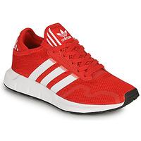 Schoenen Kinderen Lage sneakers adidas Originals SWIFT RUN X J Rood