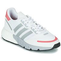 Schoenen Dames Lage sneakers adidas Originals ZX 1K BOOST W Wit / Roze