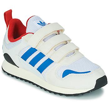 Schoenen Kinderen Lage sneakers adidas Originals ZX 700 HD CF C Beige / Blauw