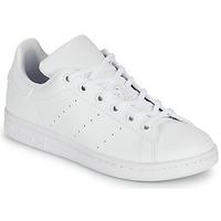 Schoenen Kinderen Lage sneakers adidas Originals STAN SMITH J SUSTAINABLE Wit