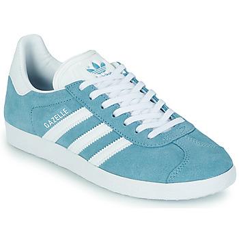 Schoenen Dames Lage sneakers adidas Originals GAZELLE W Blauw